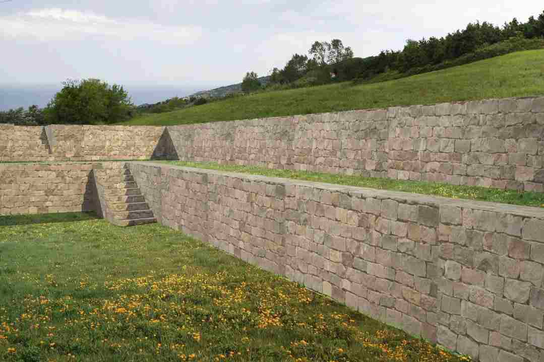 External Walls in Local Stone